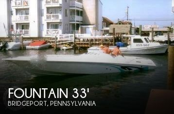 1986 Fountain 33 (10M) Executioner