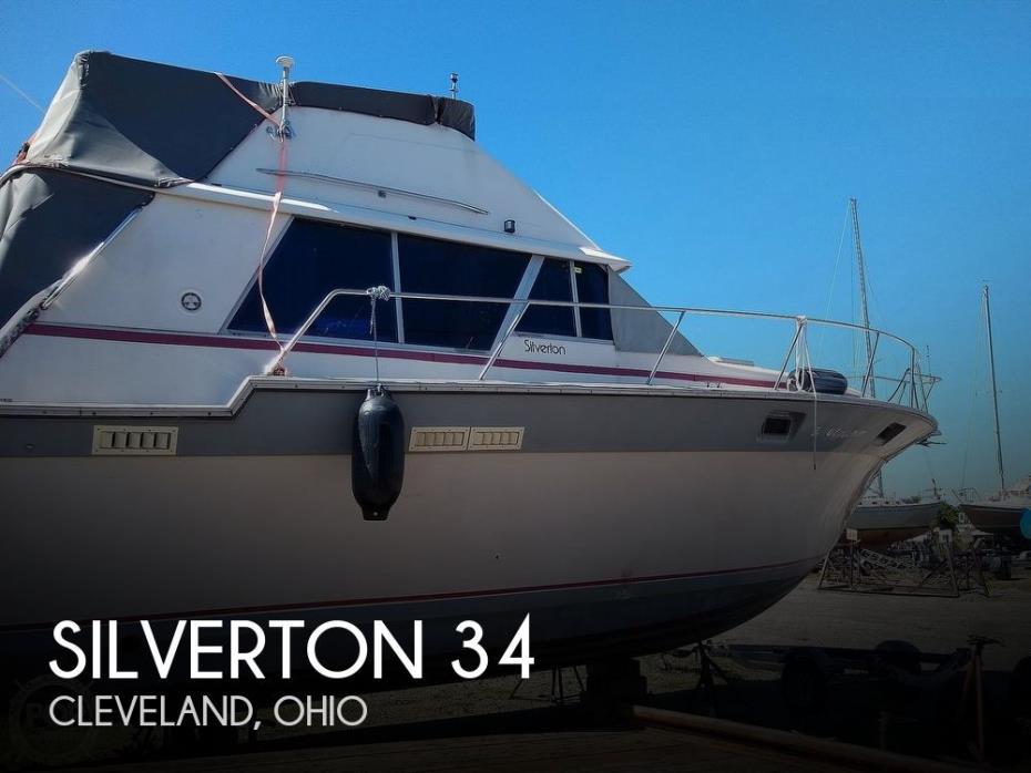 1986 Silverton 34 Convertible