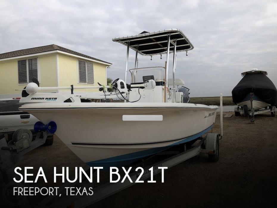 2007 Sea Hunt BX21T
