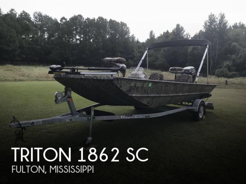 2016 Triton 1862 SC