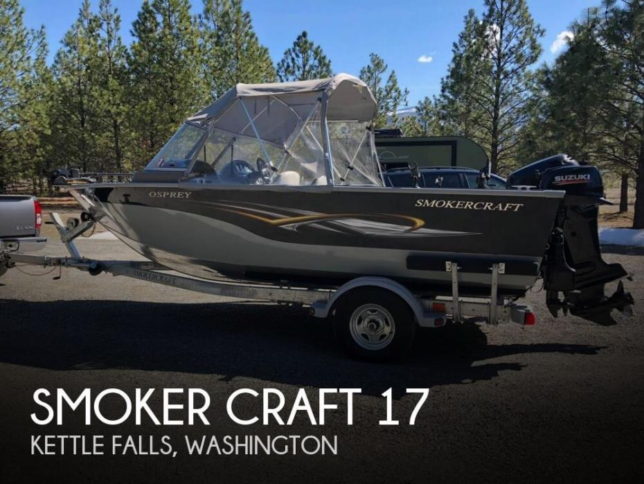 2011 Smoker Craft 17 Osprey