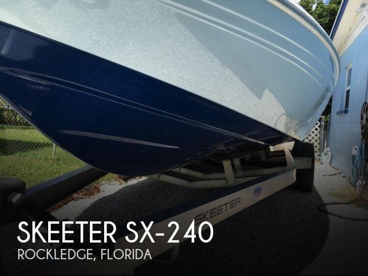 2016 Skeeter SX-240