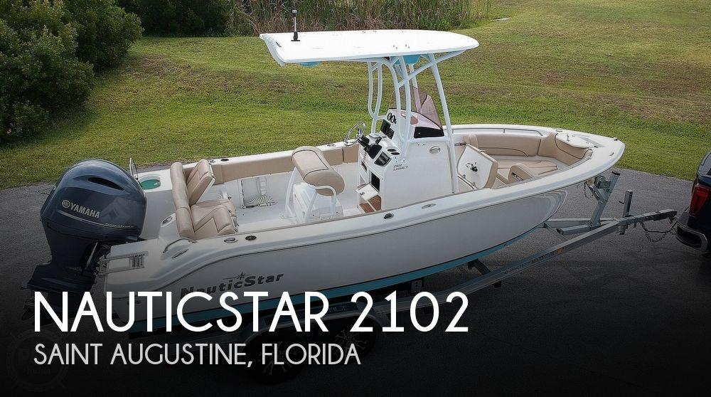 2019 NauticStar Legacy 2102