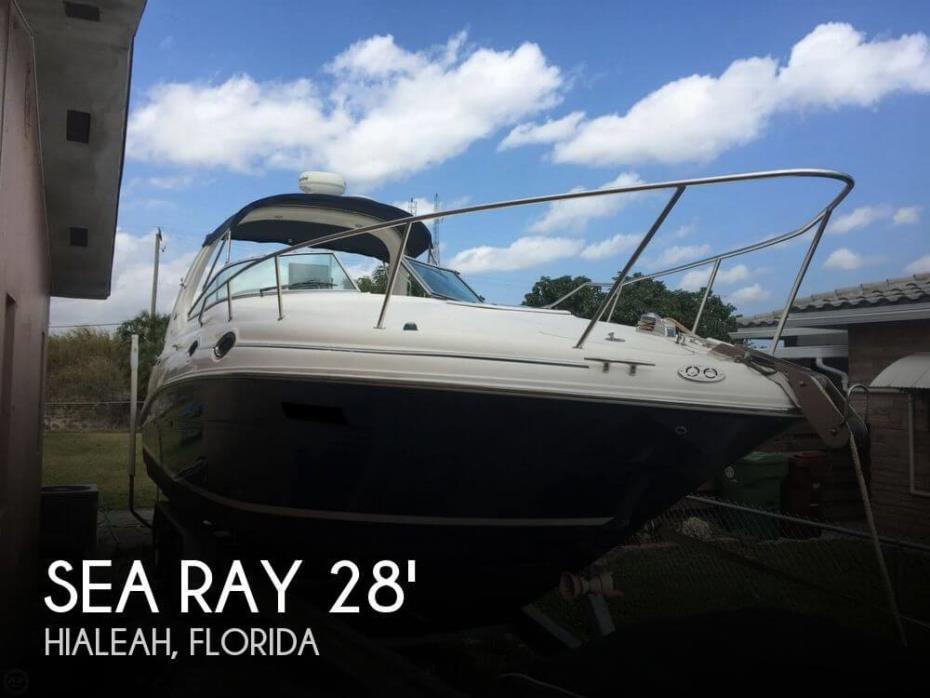 2004 Sea Ray 280 Sundancer - 2011 Mercruisers 5.0 MPI