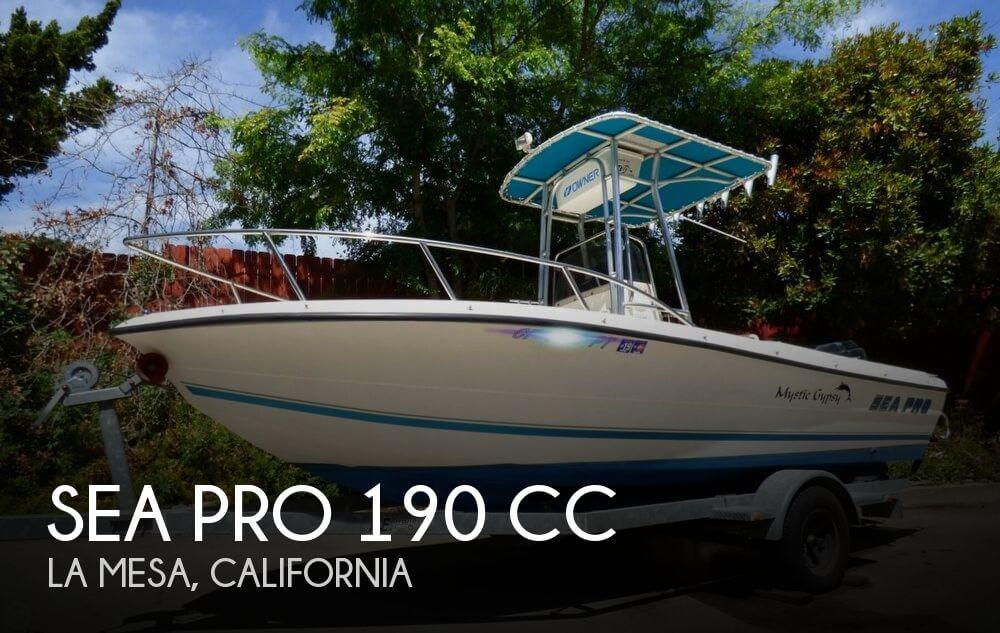 2001 Sea Pro 190 CC