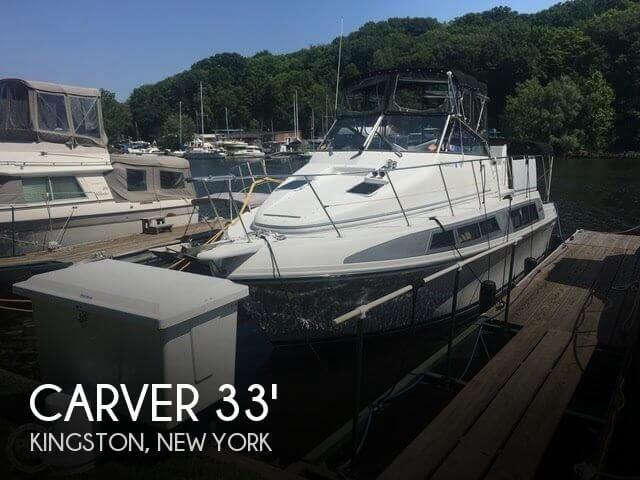 1995 Carver 330 Mariner SE