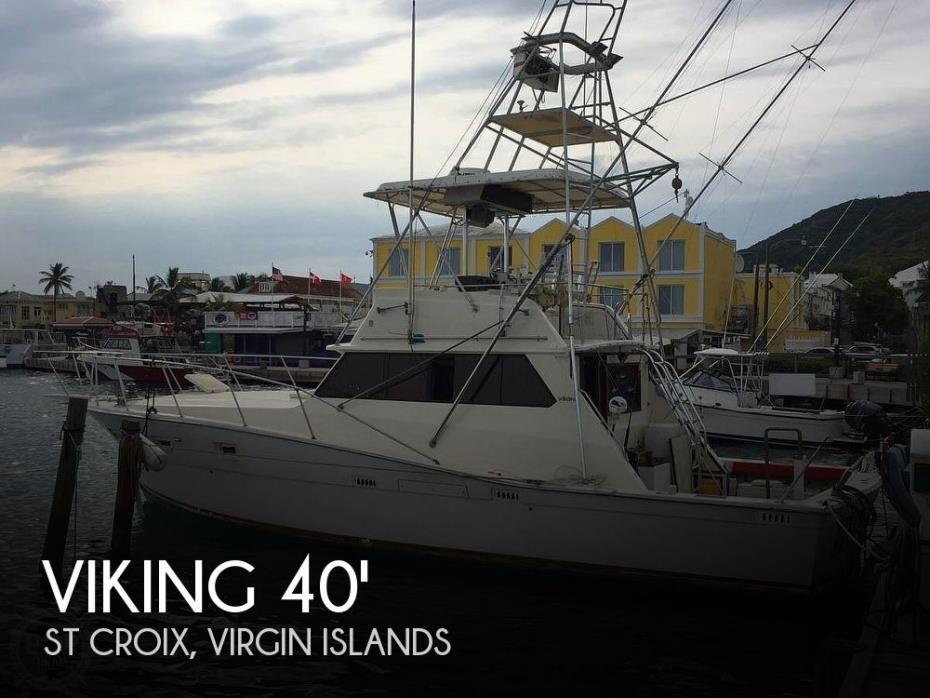 1981 Viking 40 Fly Bridge Sport Fisherman