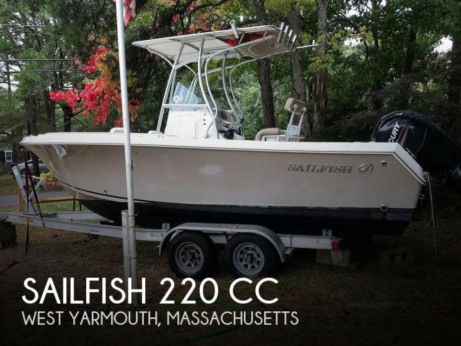 2013 Sailfish 220 CC