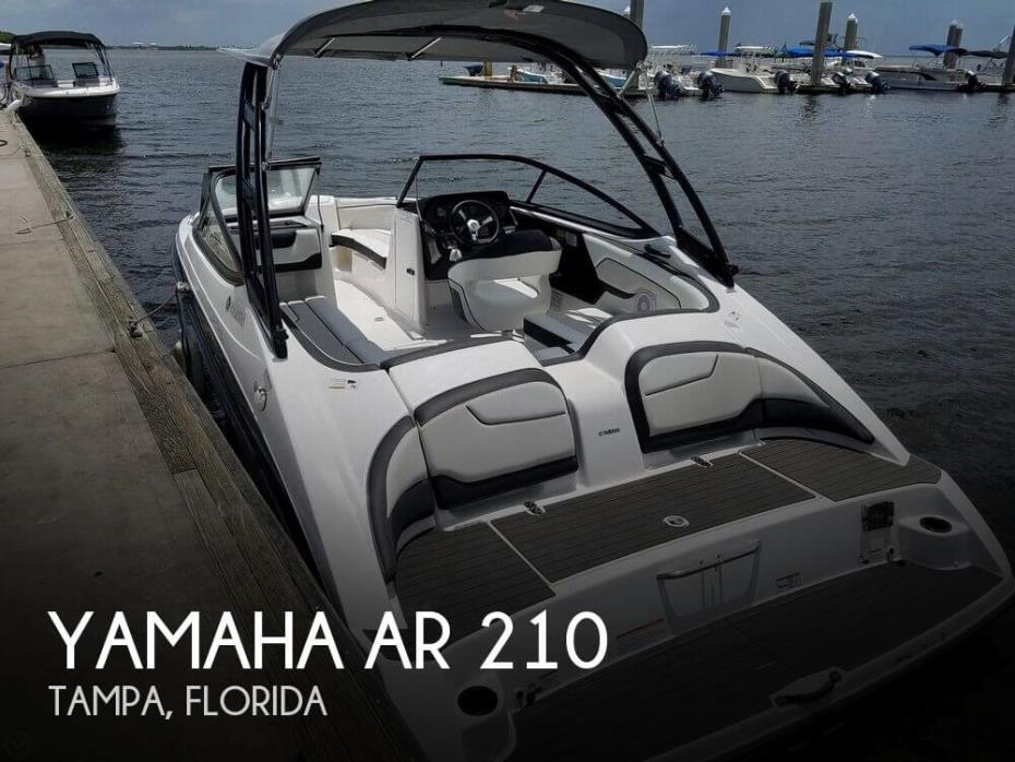 2017 Yamaha AR 210