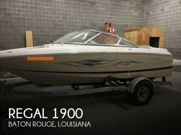 2012 Regal 1900