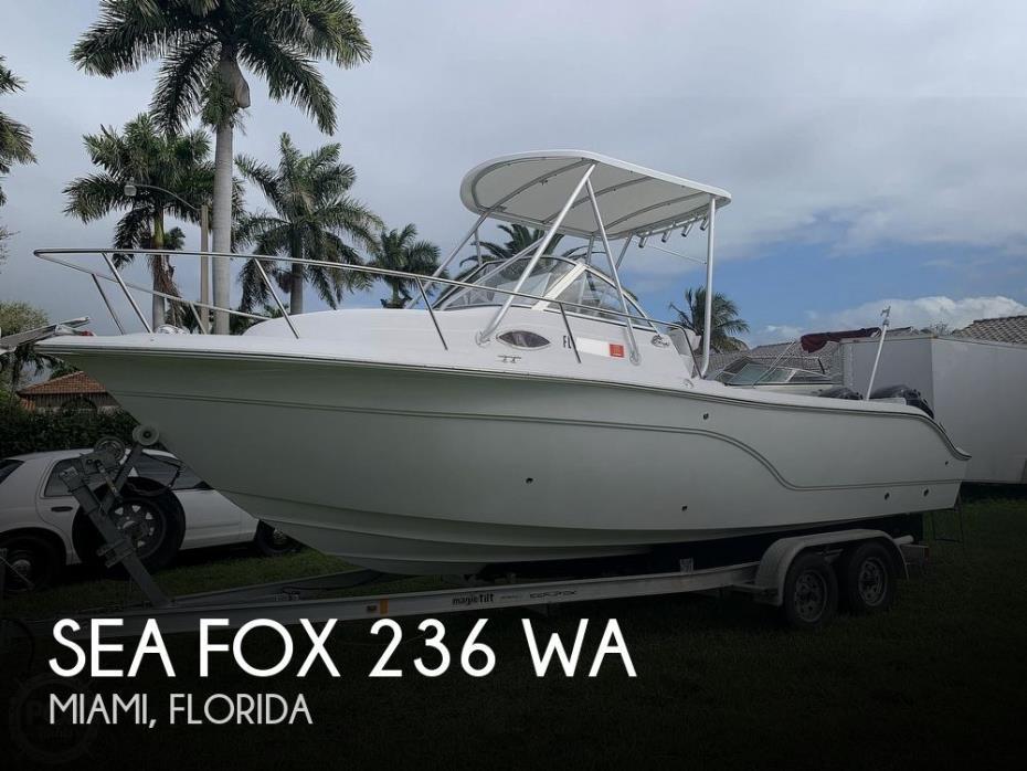 2008 Sea Fox 236 WA