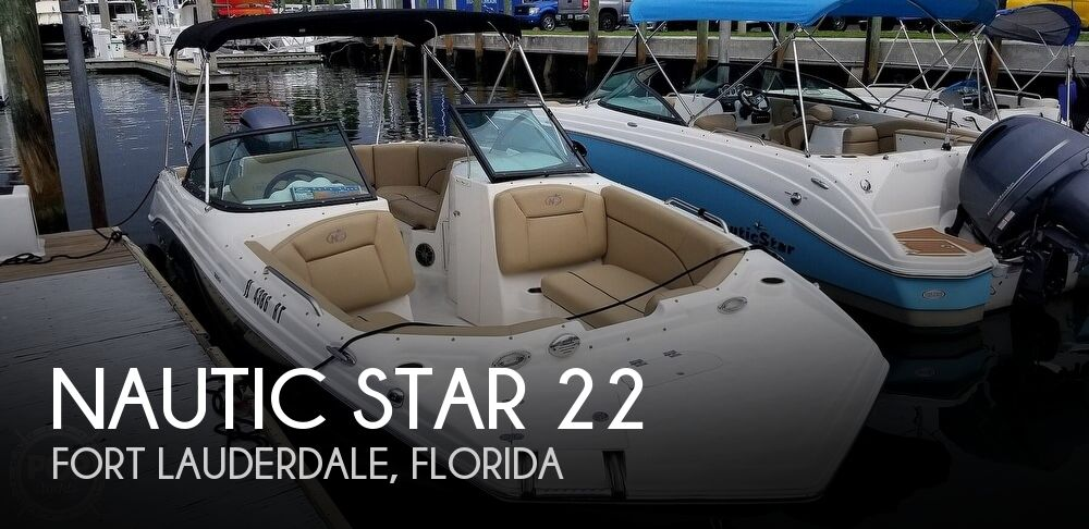 2019 Nautic Star 223 DC