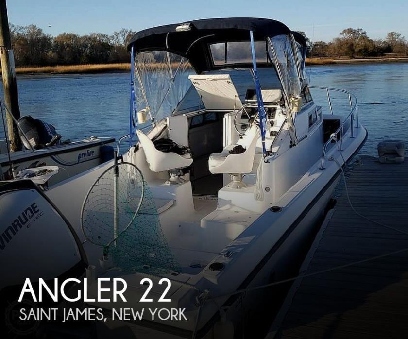 1998 Angler 220 WA