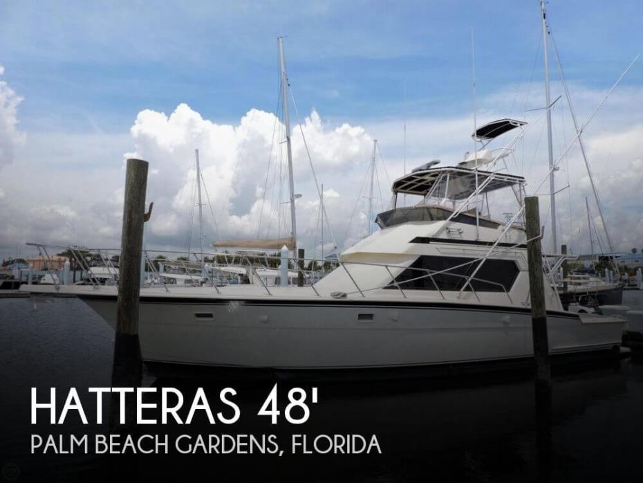 1989 Hatteras 48 Sportfish Convertable