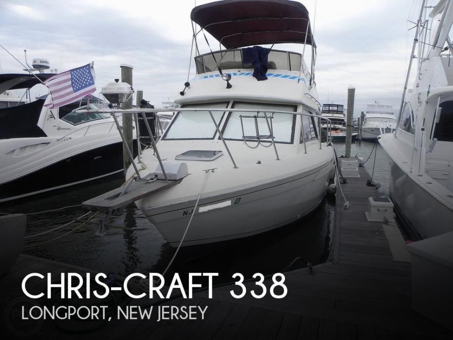 1986 Chris-Craft 338 Commander