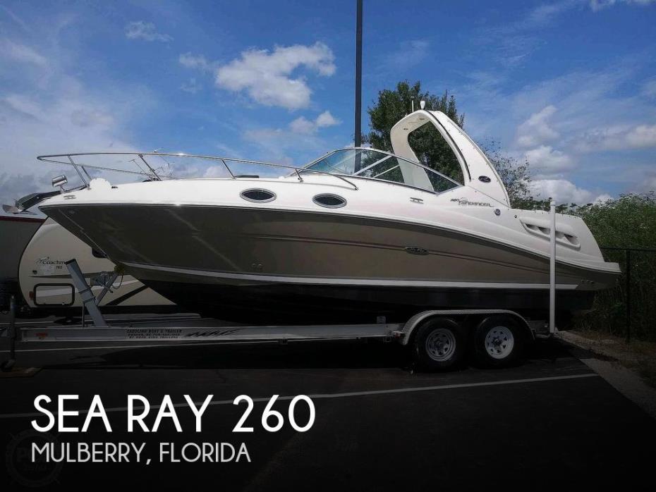 2006 Sea Ray Sundancer 260