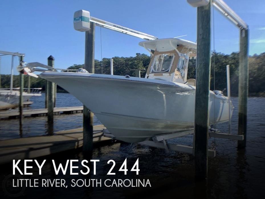 2017 Key West 244 CC Bluewater