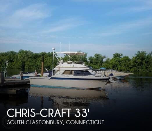 1984 Chris-Craft 315 Commander Sport Fish