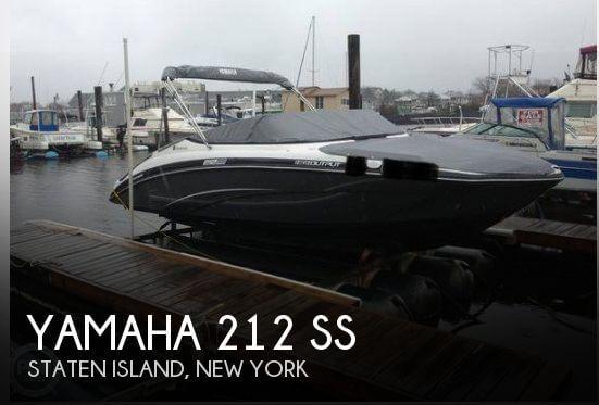 2013 Yamaha 212 SS