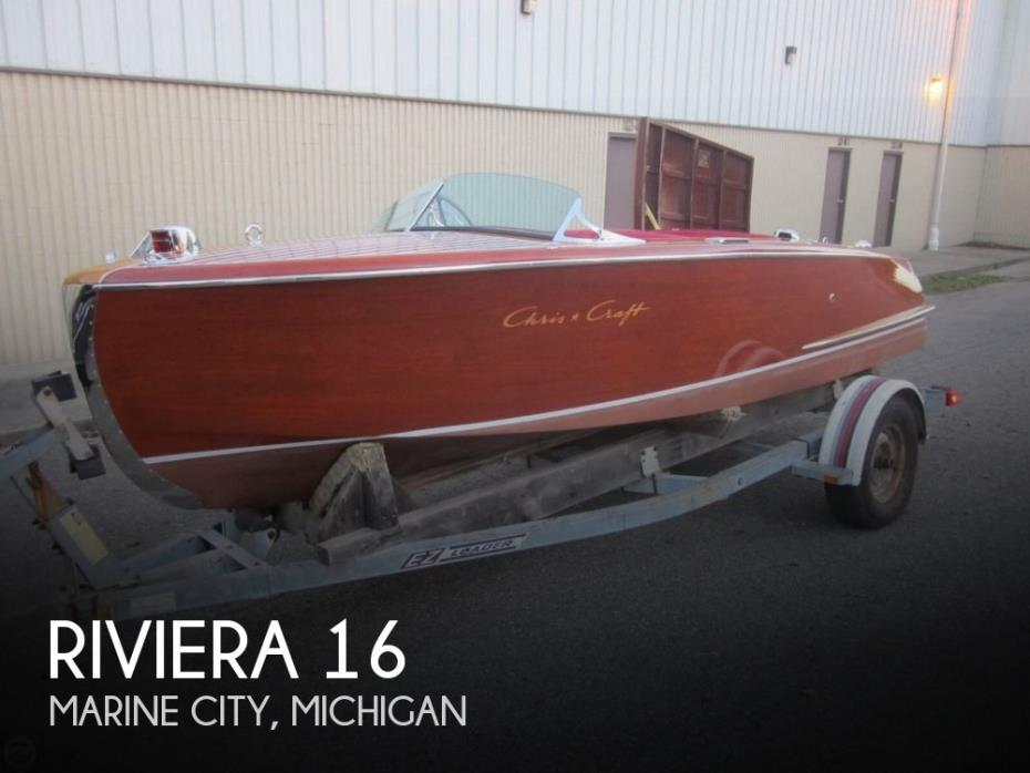 1951 Chris-Craft Riveria