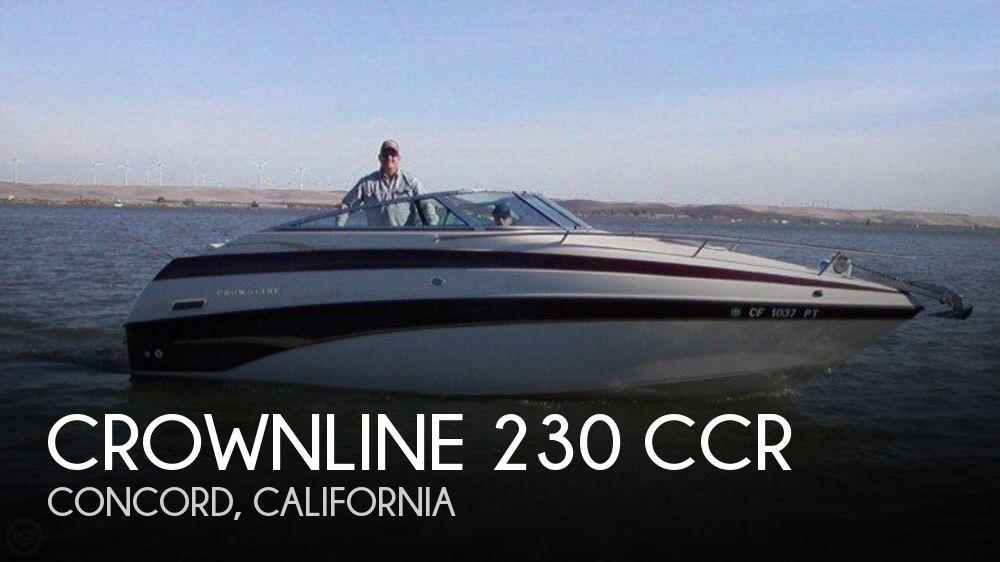 2001 Crownline 230 CCR