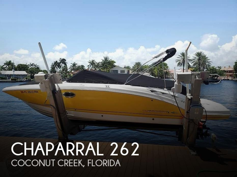 2012 Chaparral 262