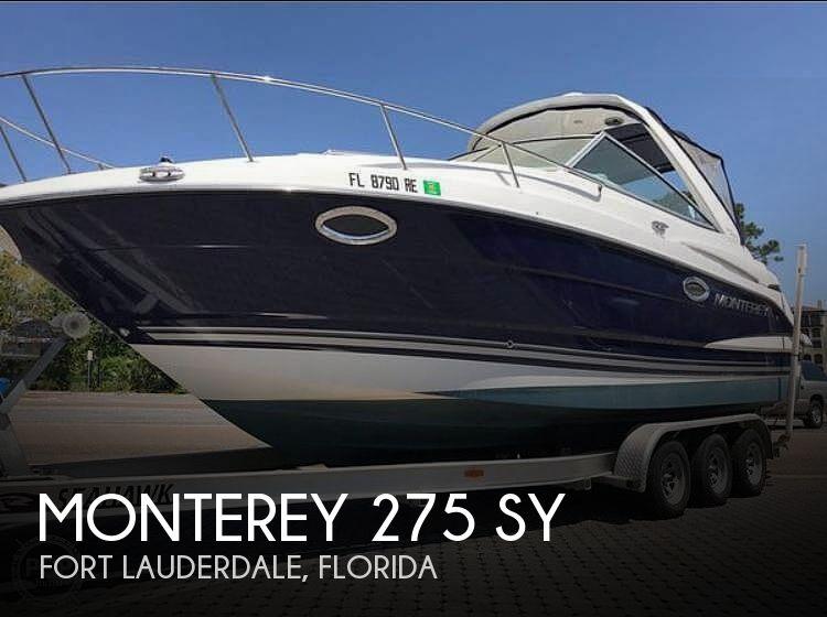 2016 Monterey 275 SY