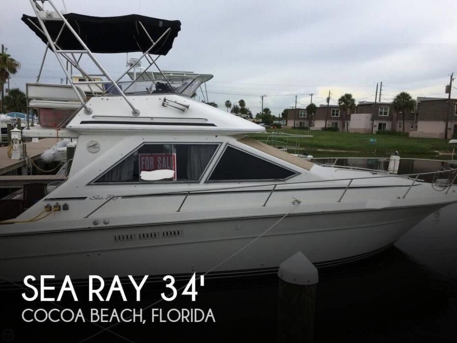 1989 Sea Ray 340 Sedan Bridge