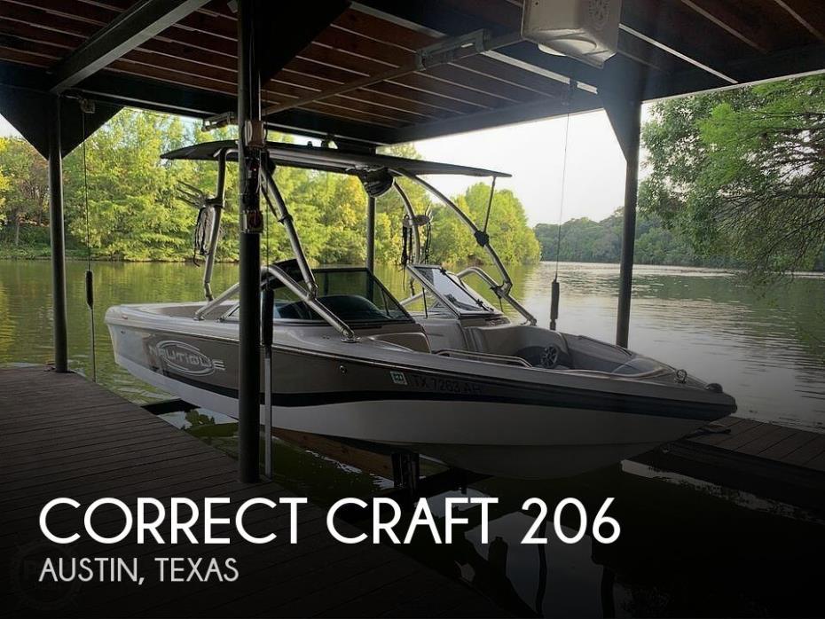 2007 Correct Craft 206 LE