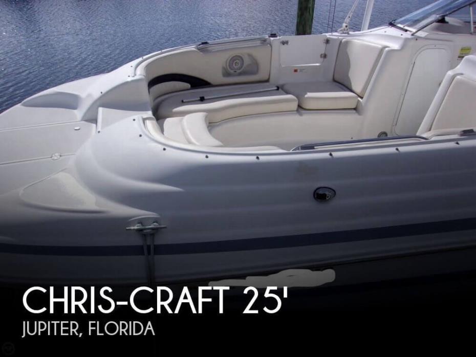 1999 Chris-Craft 260 Sport Deck
