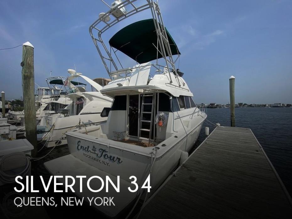 1994 Silverton 34 convertable