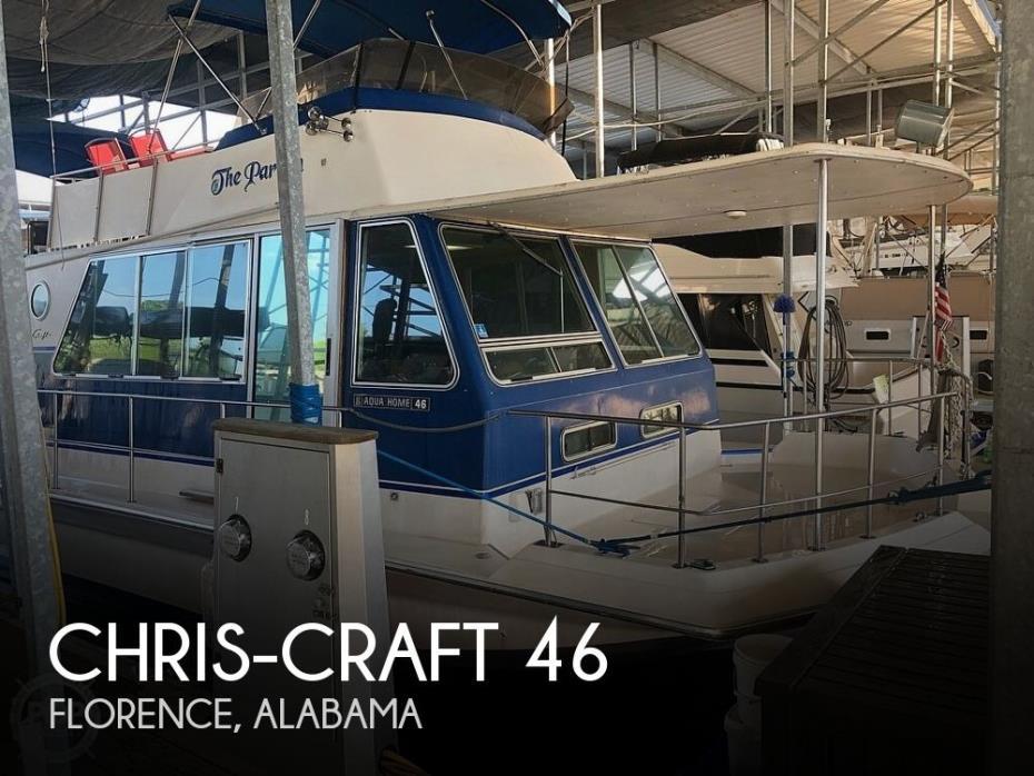 1984 Chris-Craft 46 Aqua Home