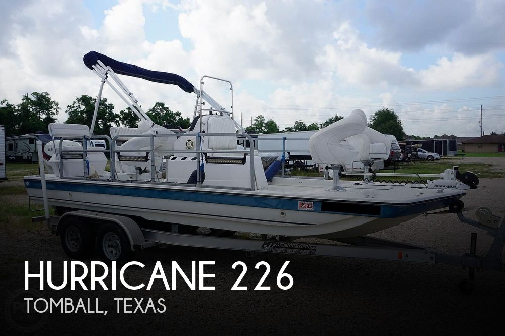 1994 Hurricane Fundeck 226