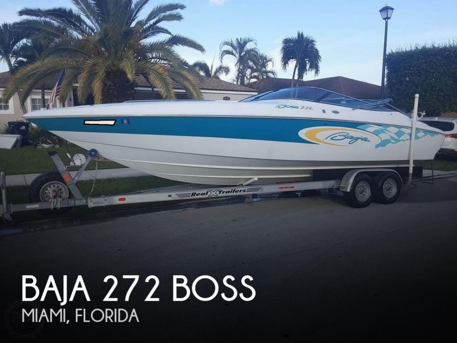 2001 Baja 272 Boss