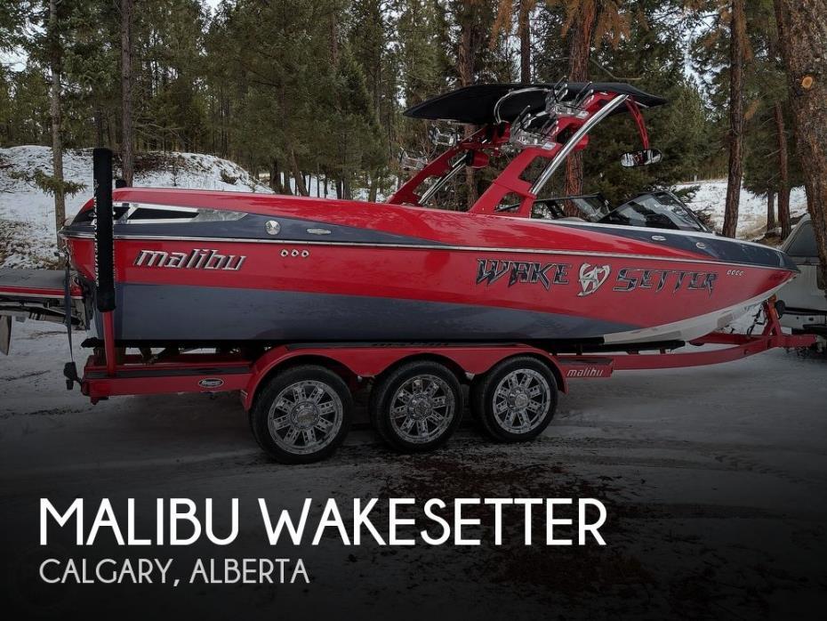 2012 Malibu Wakesetter