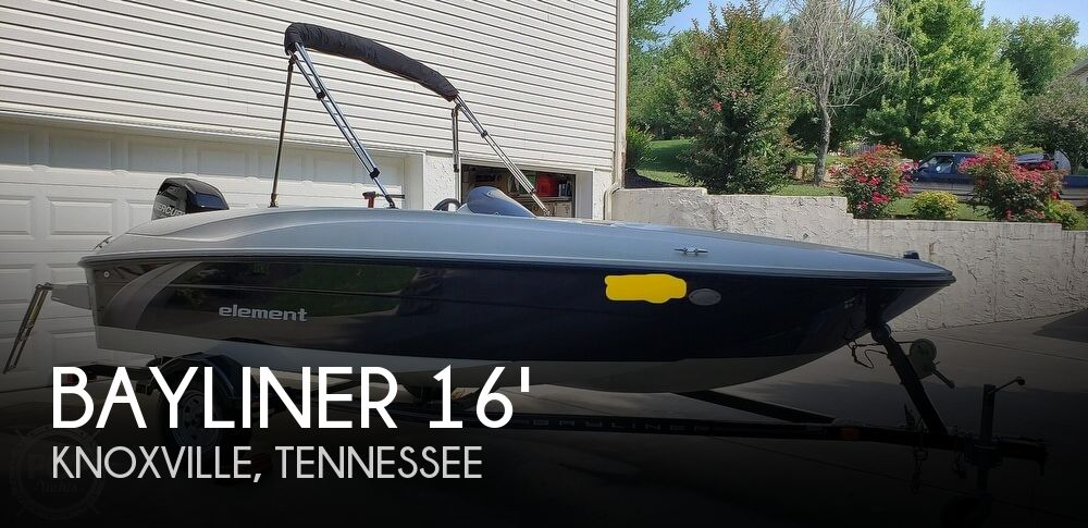 2015 Bayliner Element E16