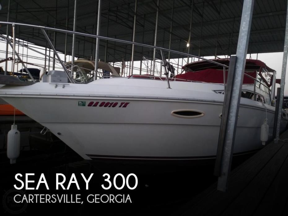 1989 Sea Ray Sundancer 300