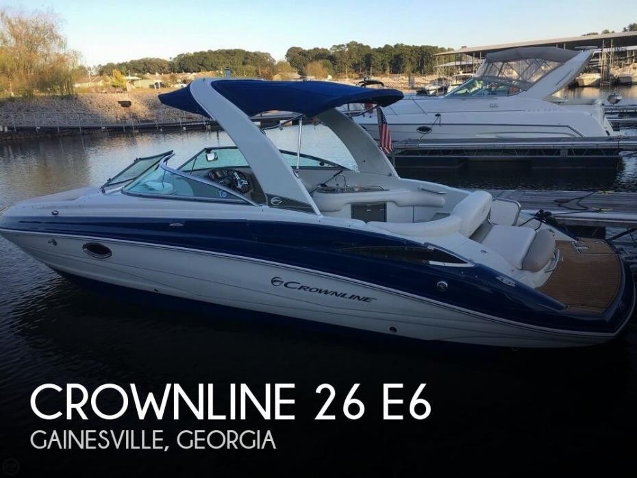 2016 Crownline 26 E6