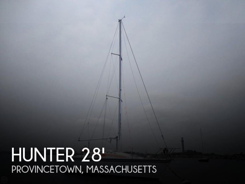 1987 Hunter 28.5 SL Cruiser