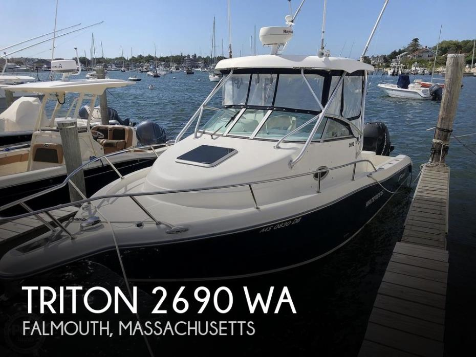 2006 Triton 2690 WA