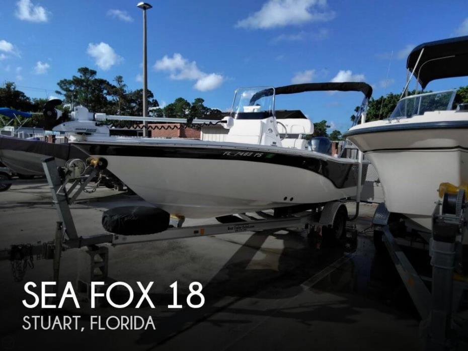 2014 Sea Fox 180 Viper
