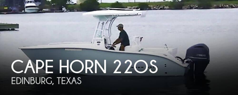 2017 Cape Horn 22OS