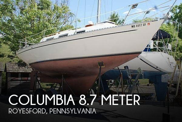 1976 Columbia 8.7 Meter