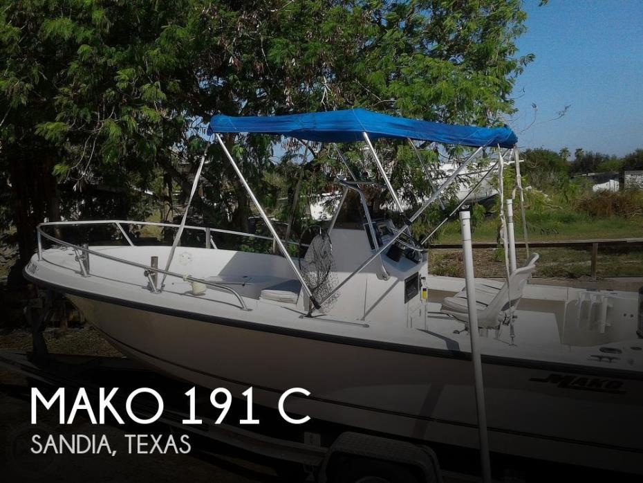 1999 Mako 191 C