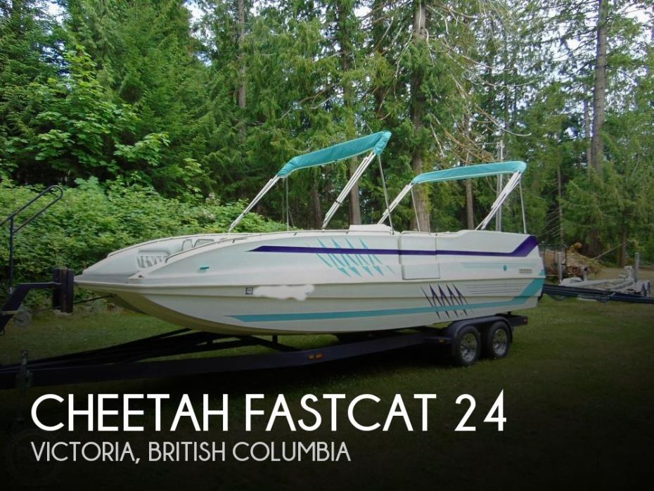 1999 Cheetah FastCat 24