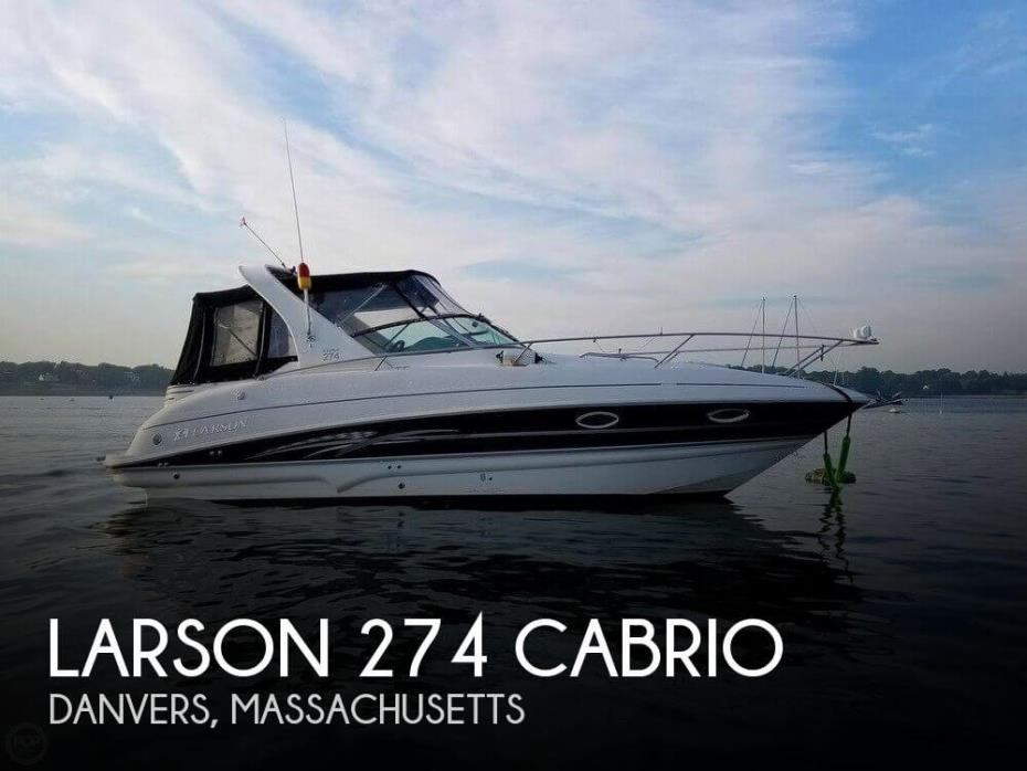 2008 Larson 274 Cabrio