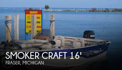 2007 Smoker Craft 161 Pro Angler