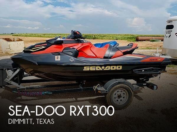 2020 Sea-Doo RXT-X 300 and 2002 GTX 4-TEC