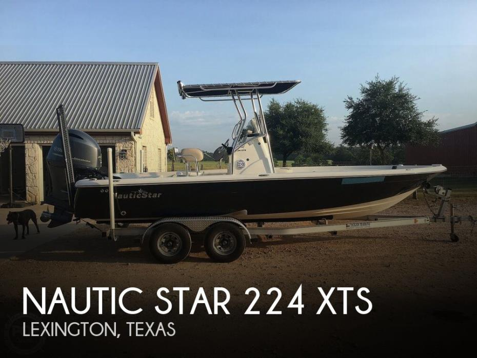 2016 Nautic Star 224 XTS
