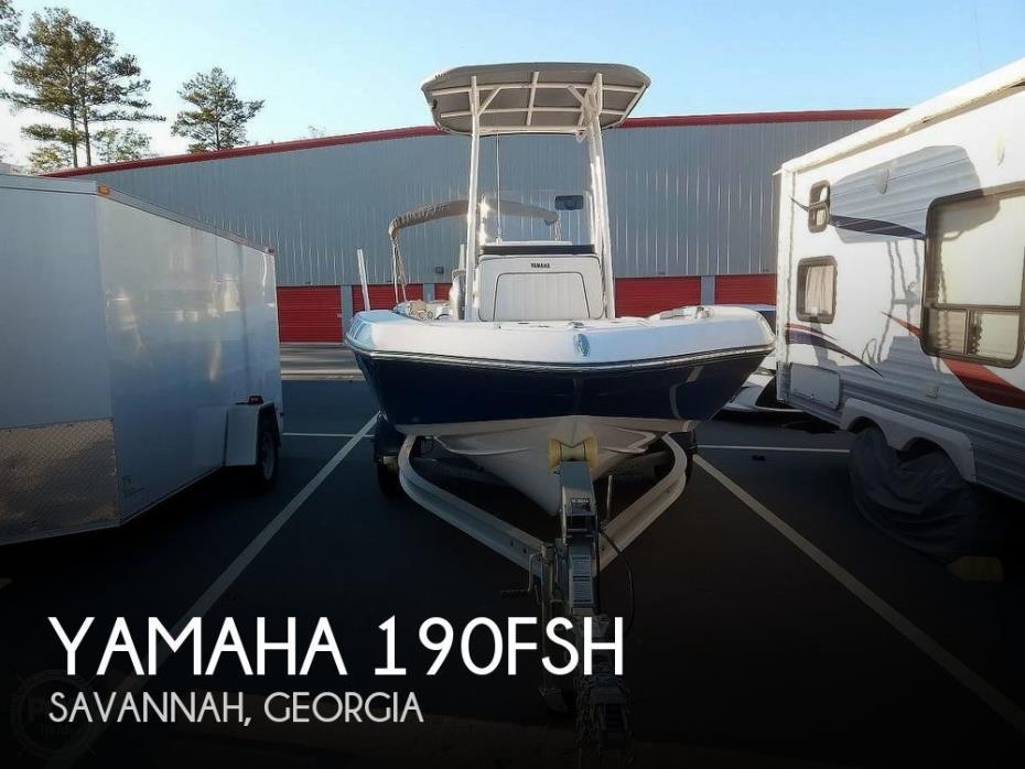 2017 Yamaha 190FSH